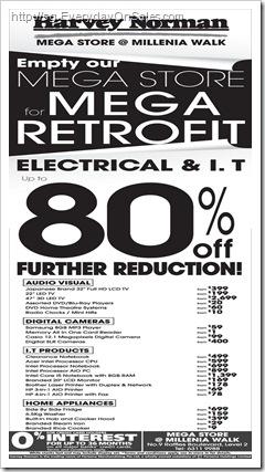 HarveyNormanMegaSale_thumb Harvey Norman Electrical & IT Sale