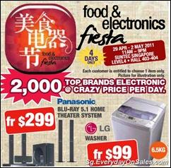 FoodelectronicsFiestaSingaporeWarehousePromotionSales_thumb Food & Electronics Fiesta 2011