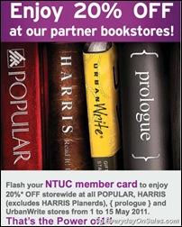 NTUCMemberBookstoresSingaporeSalesSingaporeWarehousePromotionSales_thumb NTUC Members Bookstores Promotion