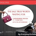 Robinsons Cardmember's Preview Singapore Sales