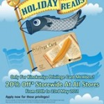 Kinokuniya Holiday Reads Promotion