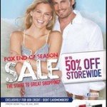 Fox End of Season Sale