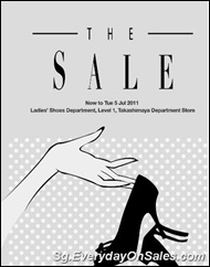 TakashimayaShoesSaleSingaporeWarehousePromotionSales_thumb Takashimaya Ladies Shoe Bazaar GSS