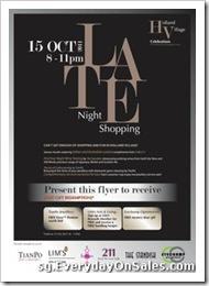 TheLateNightShoppingHollandVillageSingaporeSalesWarehousePromotionSales_thumb Late Night Shopping 2011 @ Holland Village