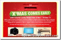CourtsXmasComesEarly2011SingaporeSalesWarehousePromotionSales_thumb Courts X'mas Comes Early 2011