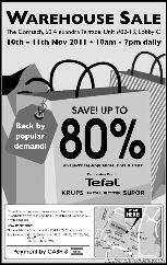 TefalwarehousesaleSingaporeWarehousePromotionSales_thumb Electrical Appliances Warehouse Sale