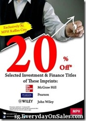 MPH Investment & Finance Titles Promotion