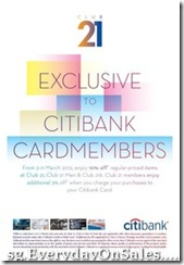 Club21ExclusiveOfferToCitibankCardmembers_thumb Club 21 Exclusive Offer To Citibank Cardmembers
