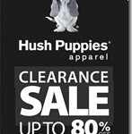 Hush Puppies Apparel Clearance Sale 2012