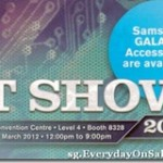 Samsung Galaxy Accessories For IT Show 2012