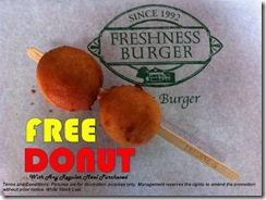FreshnessBurgerFreeDonutPromotion_thumb Freshness Burger Free Donut Promotion