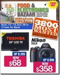 SingaporeFoodElectronicsBazaar2012_thumb Singapore Food & Electronics Bazaar 2012