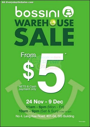 Bossini Warehouse Sale Branded Shopping Save Money EverydayOnSales