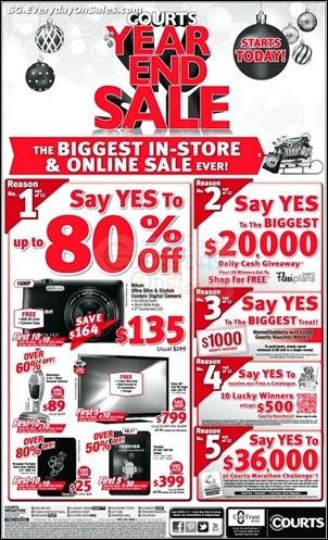 Courts-Year-End-Sale-Branded-Shopping-Save-Money-EverydayOnSales_thumb 23 November-31 December 2012: Courts Year End Sale