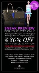 Haute-Avenue-Sale-Branded-Shopping-Save-Money-EverydayOnSales_thumb 17 November 2012: Haute Avenue Designer Fashion Sale