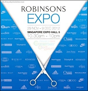 Robinsons Expo Branded Shopping Save Money EverydayOnSales
