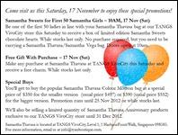 Samantha-Thavasa-Opening-Promotions-Branded-Shopping-Save-Money-EverydayOnSales_thumb 17 November 2012: Samantha Thavasa Opening Promotion