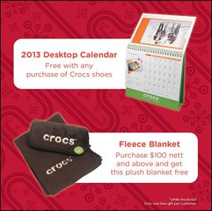 Crocs-FREE-Gifts-at-Metro_thumb 18 December 2012 onwards: The Amazing FREE Gifts at Metro