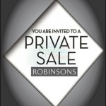 5 December 2012: Robinsons Private Sale