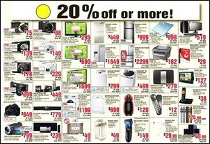 red-20-discounts-harvey-norman_thumb 10-18 December 2012: Harvey Norman Colour Code Sale