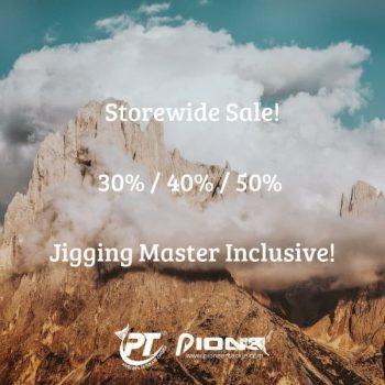Pioneer-Jigging-Master-Stocks-Storewide-Sale-350x350 17 Feb 2020 Onward: Pioneer Jigging Master Stocks Storewide Sale