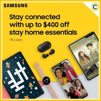 COURTS-Samsung-Promotion-350x350 Now till 26 Apr 2020: COURTS Samsung Promotion