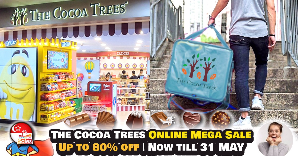FB-SG-The-Cocoa-Trees-NEW 8 Apr-31 May 2020: The Cocoa Trees Online Mega Sale! Up to 80% off Chocolates & Snacks!
