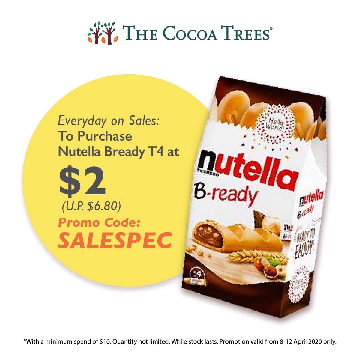 everydayone-sales-1 8 Apr-31 May 2020: The Cocoa Trees Online Mega Sale! Up to 80% off Chocolates & Snacks!