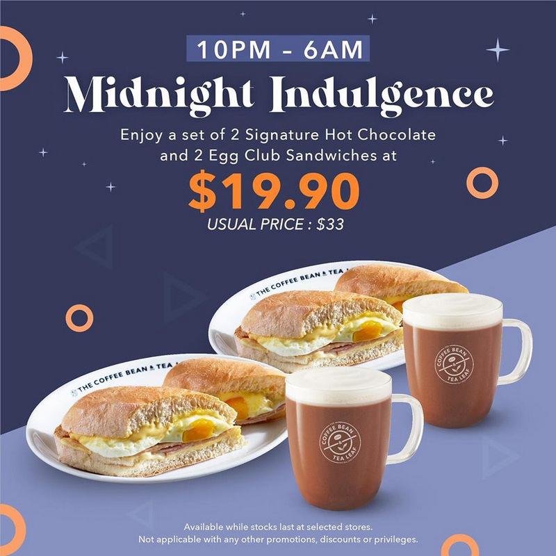 2 May 2020 Onward The Coffee Bean Tea Leaf Midnight Indulgence Sg Everydayonsales Com