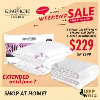 King-Koil-Extended-Weekend-Sale-350x350 5-7 Jun 2020: King Koil Extended Weekend Sale