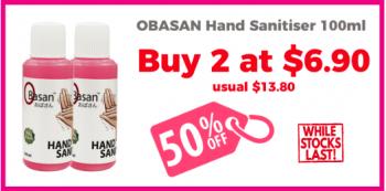 Selffix-2-Obasan-Hand-Sanitisers-Promotion-350x173 23 Jul 2020 Onward: Selffix 2 Obasan Hand Sanitisers Promotion