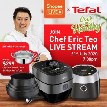 Tefal-Live-at-Shopee-350x350 21 Jul 2020: Tefal Live at Shopee