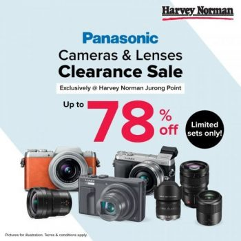 Panasonic-Cameras-Lenses-Clearance-Sale-at-Harvey-Norman-Jurong-Point-350x350 8 Oct 2020 Onward: Panasonic Cameras & Lenses Clearance Sale at Harvey Norman Jurong Point