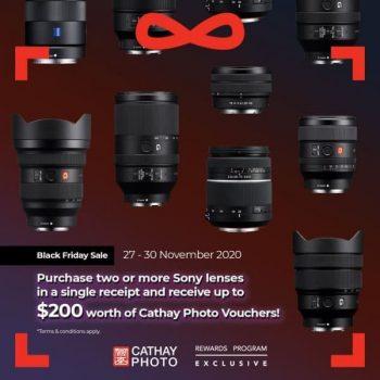 Cathay-Photo-Black-Friday-Sale-2-350x350 27-30 Nov 2020: Cathay Photo and SONY Black Friday Sale