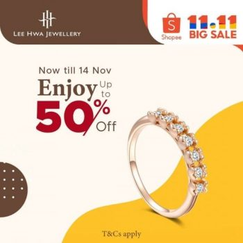 Lee-Hwa-Diamond-11.11-Sale-on-Shopee-350x350 3-14 Nov 2020: Lee Hwa Diamond 11.11 Sale on Shopee