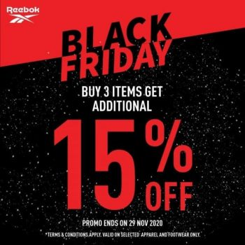 Royal-Sporting-House-Black-Friday-Outlet-Exclusive-Sale--350x350 26-29 Nov 2020: REEBOK Black Friday Outlet Exclusive Sale at IMM