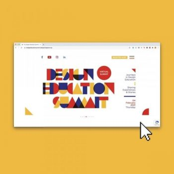 DesignSingapore-Council-Design-Education-Summit-Website-Promotion-350x350 28 Dec 2020 Onward: DesignSingapore Council Design Education Summit Website Promotion