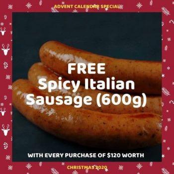 TasteSingapore-Free-Spicy-Italian-Sausage-Promotion-350x350 17 Dec 2020: TasteSingapore Free Spicy Italian Sausage Promotion