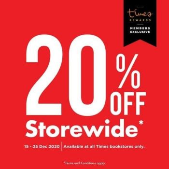 Times-bookstores-Storewide-Promotion-350x350 16-25 Dec 2020: Times bookstores Storewide Promotion