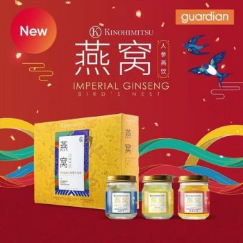 Guardian-Kinohimitsu-Imperial-Ginseng-Birds-Nest-Gift-Set-Promotion-350x350 27 Jan-24 Feb 2021: Guardian Kinohimitsu Imperial Ginseng Bird's Nest Gift Set Promotion