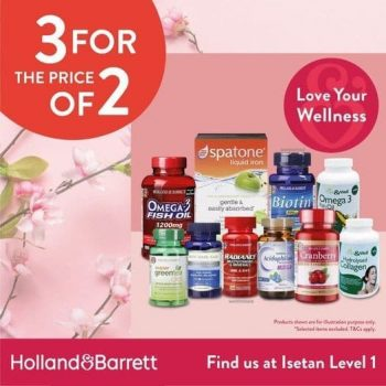 Isetan-3-For-The-Price-Of-2-Promotion-350x350 18 Jan-28 Feb 2021: Holland & Barrett 3 For The Price Of 2 Promotion at Isetan