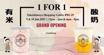 Rice-X-Yogurt-Grand-Opening-Promo-at-Takashimaya-350x184 9-10 Jan 2021: Rice X Yogurt Grand Opening Promo at Takashimaya