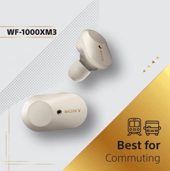 Stereo-Sony-WF-1000XM3-Truly-Wireless-In-Ear-Headphones-Promotion-350x353 13 Jan 2021 Onward: Stereo Sony WF-1000XM3 Truly Wireless In-Ear Headphones Promotion