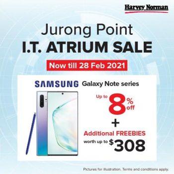 Harvey-NormanJurong-Point-IT-Atrium-Sale-350x350 19-28 Feb 2021: Harvey NormanJurong Point IT Atrium Sale
