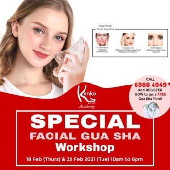 Kenko-Reflexology-Fish-Spa-Special-Facial-Gua-Sha-Workshop-350x350 18-23 Feb 2021: Kenko Reflexology & Fish Spa Special Facial Gua Sha Workshop