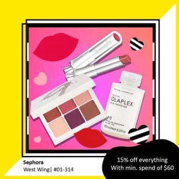 Sephora-Valentines-Day-Sale-at-Suntec-City-350x350 13-14 Feb 2021: Sephora Valentine's Day Sale at Suntec City