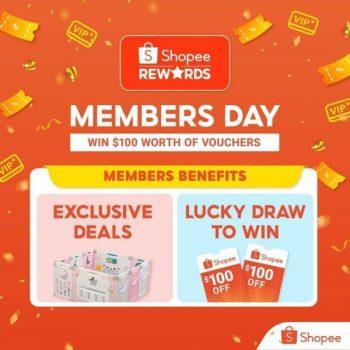 Shopee-Members-Day-Giveaways-350x350 22-23 Feb 2021: Shopee Members Day Giveaways