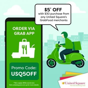 United-Square-Shopping-Mall-CNY-Season-Promotion-350x350 11 Feb 2021 Onward: United Square Shopping Mall CNY Season Promotion with GrabFood