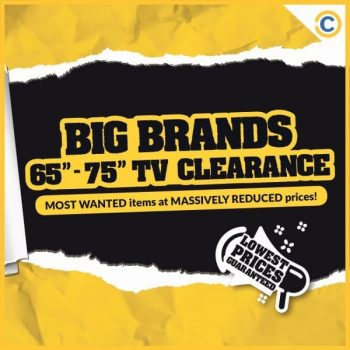 COURTS-Big-Brands-Clearance-Sale-350x350 1-8 March 2021: COURTS Big Brands Clearance Sale