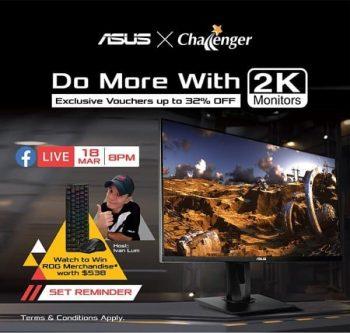 Challenger-Exclusive-Discounts-Promotion-350x333 18 Mar 2021 Onward: ASUS and Challenger Exclusive Discounts Promotion